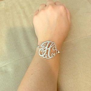 "Jewelry - ""H"" monogram bangle"